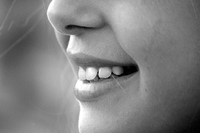 immer mal lächeln