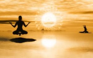 abschalten durch meditation