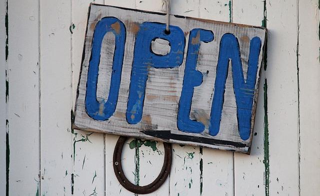 von offenen Türen