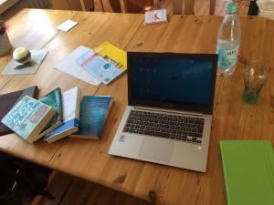 Blogartikel Entwurf im Wohnzimmer