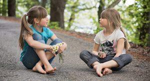 Ehrlich sein von Kindern lernen