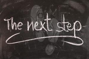 Fortschritte planen, der nächste Schritt