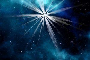 Reflektion das Sternenlicht