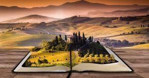 Bücher, neue Welten erschließen sich